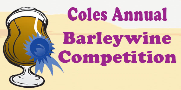 Cole's Barleywine Competition by Brewing News